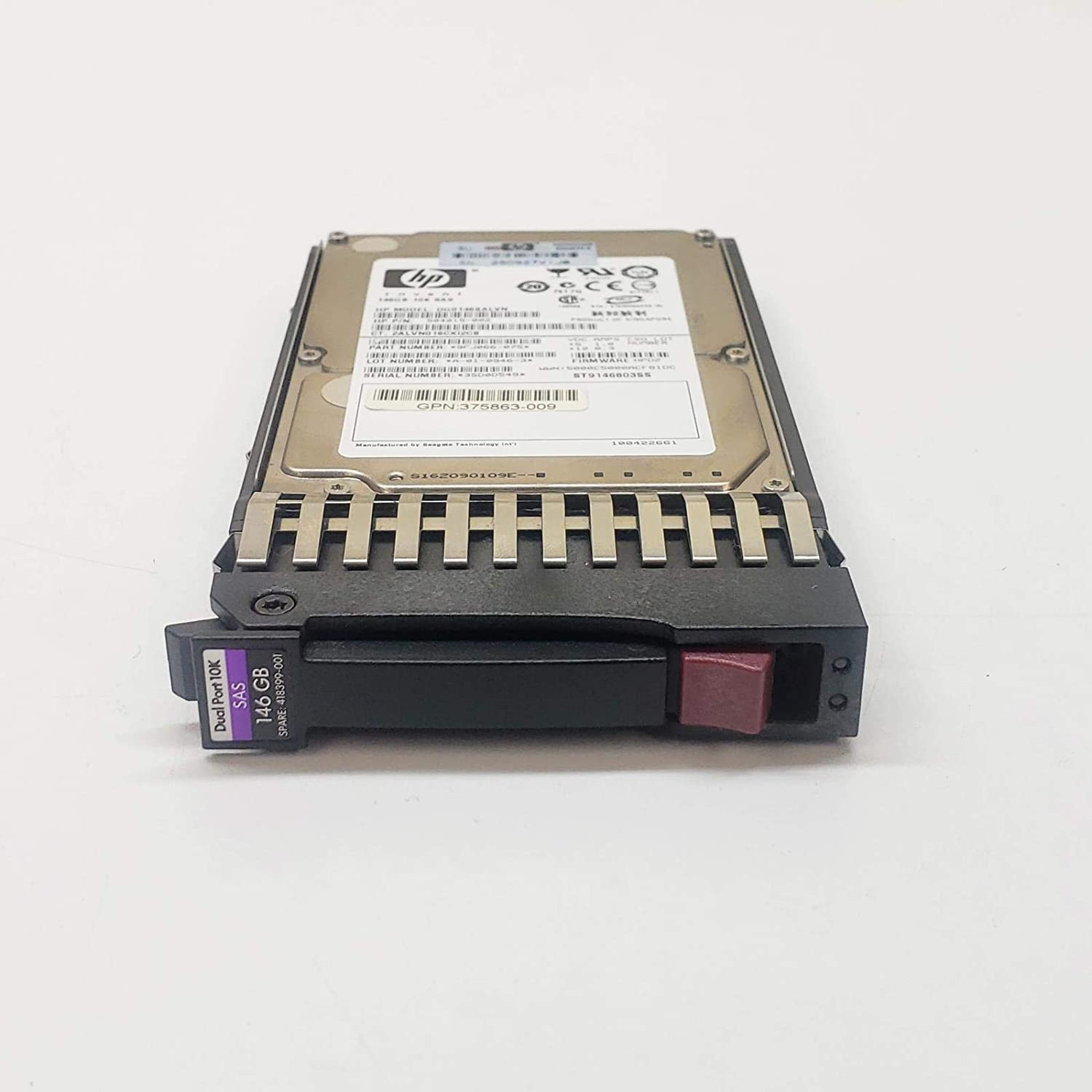 HP 418399-001 146GB 10K DP SFF SAS 2.5