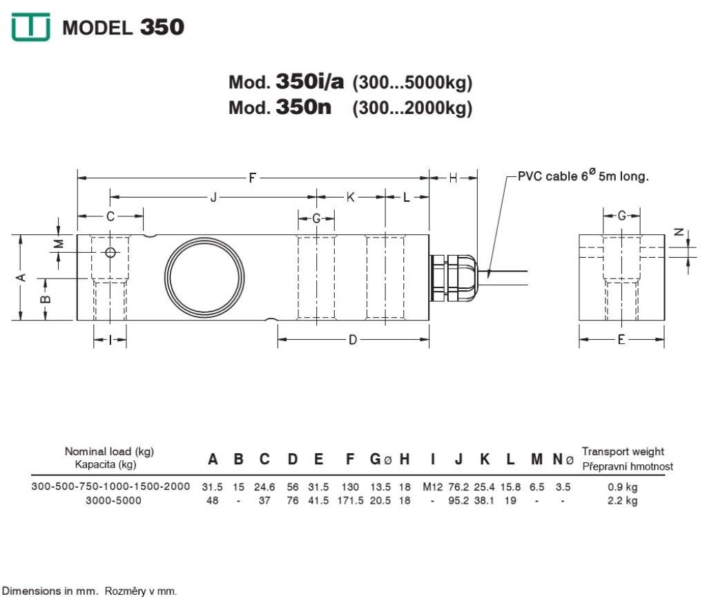 Célula de carga UTILCELL modelo 350I 1000kG: Amazon.es: Industria ...