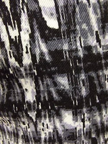 Ex-Chain - Vaqueros - Corte ajustado - Efecto teñido - para mujer Black/White/Grey Mix