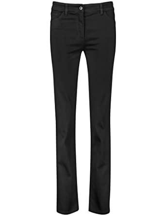 a55ab8f3cfc0 Gerry Weber Damen Hose Jeans lang 5-Pocket Jeans Langgröße Straight Fit  Romy Langgröße  Amazon.de  Bekleidung