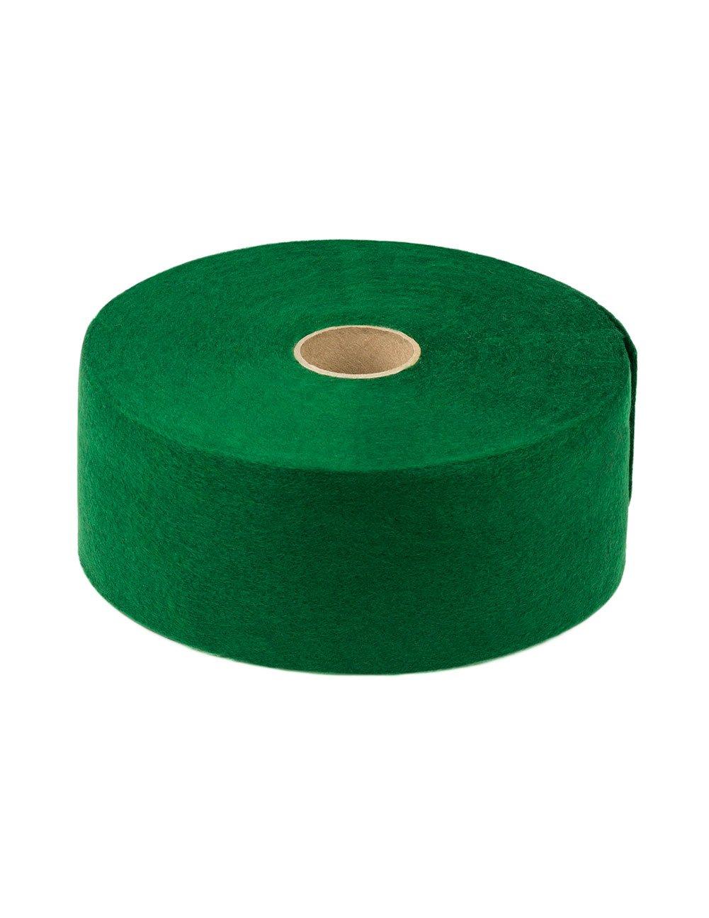 Acrylic Felt Ribbon: 3'' Wide X 50' Long X 1/16'' Thick, Green