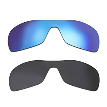 HKUCO Mens Replacement Lenses for Oakley Antix Sunglasses Titanium Mirror Polarized uU5ZqjRpMu