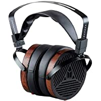 Monolith M1060 Over Ear Planar Magnetic Headphones - Black/Wood With 106mm Driver, Open Back Design, Comfort Ear Pads…