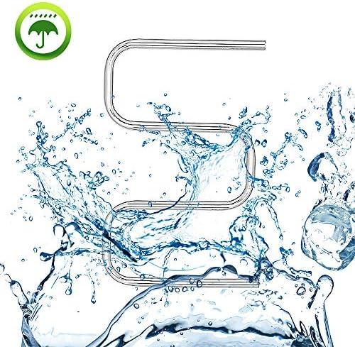 タオルウォーマーは、ウォールホーム浴室ステンレス省スペース加熱乾燥ラックマウント、恒温電気タオルウォーマー、Voltage100-240V,Hardwired