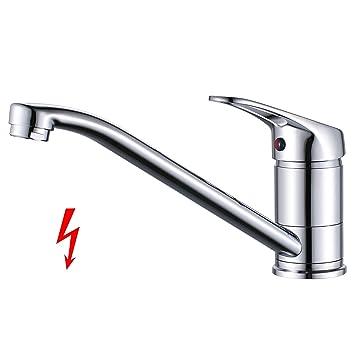 Küchenarmatur Niederdruck Armatur Küche Wasserhahn, BONADE Spültischarmatur  Küchenspüle Mischbatterie 360° Schwenkbarer Einhebelmischer  Spültischbatterie ...