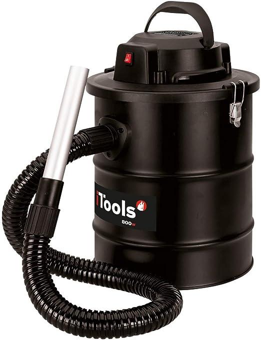 Aspirador soplador de cenizas 800 W – 18L + filtro y sartenes ...