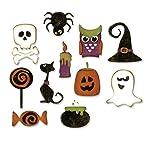 Sizzix Tholtz Thinlits - Troquel, diseño de Halloween