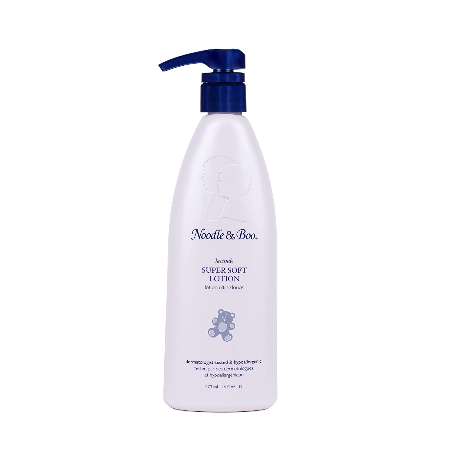 Noodle & Boo Lavender Super Soft Moisturizing Lotion for Daily Newborn and Baby Care