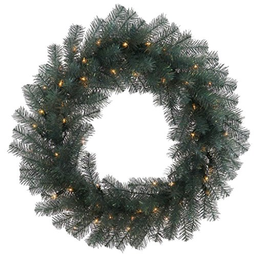 Crystal Pine Wreath - Vickerman 30985 - 30