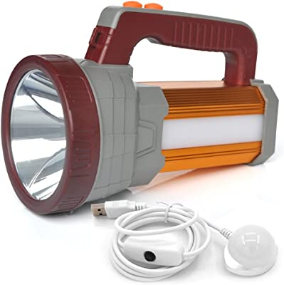 BIGSUN USB Rechargeable Spotlight