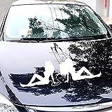 Finance Plan Hot Sale Angel and Demon Car Sticker