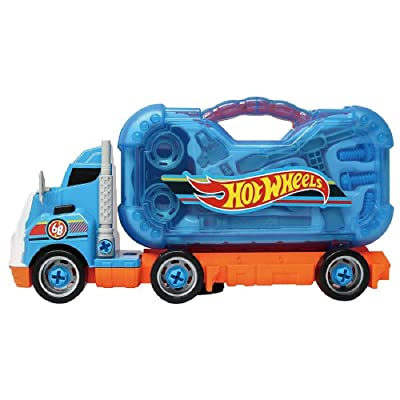 Hot Wheels HW Kids Lights and Sounds Tool KIT Truck: Toys & Games
