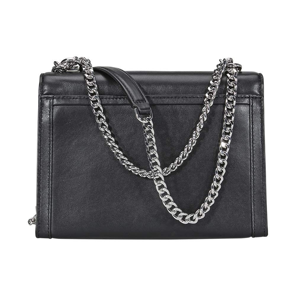 5875a8ccdf1b Amazon.com: Michael Kors Whitney Large Shoulder Bag- Black: Clothing