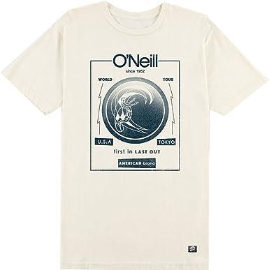 ONeill - Camiseta - camisa - para hombre Beige crema XX-Large: Amazon.es: Ropa y accesorios