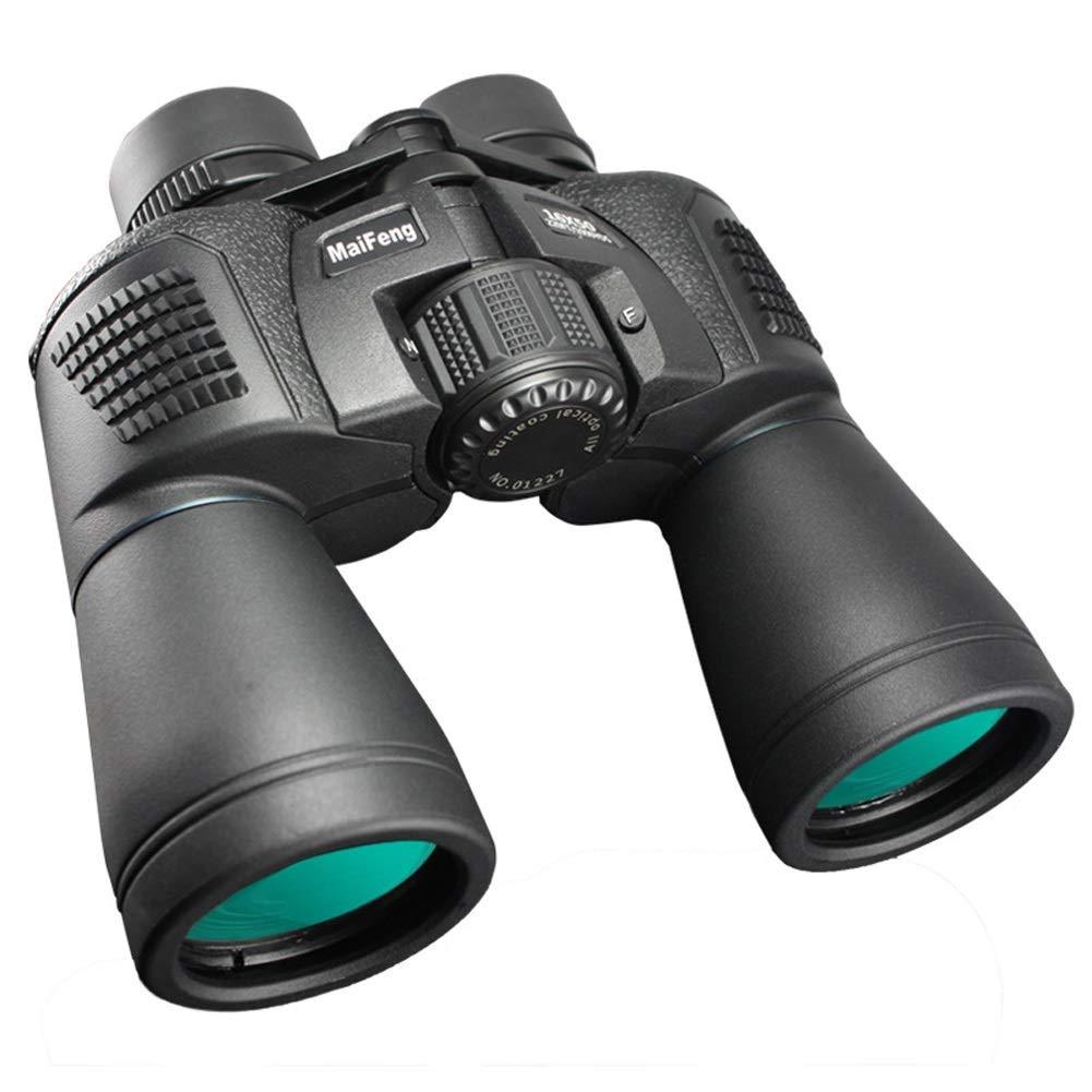 DT10X50MF GYYlucky Double Tube 16x50 Lunettes de Vision en extérieur pour Adultes en Plein air Haute définition sans Infrarouge et Basse définition