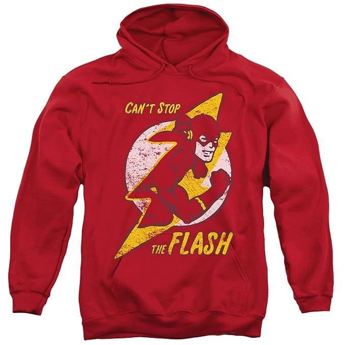 DC - Dc - Hombres flash Perno Sudadera con capucha, Small, Red: Amazon.es: Ropa y accesorios