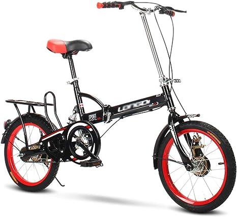 Bicicleta Plegable Adulto Aluminio Bicicleta Unisex Bike: Amazon.es: Deportes y aire libre