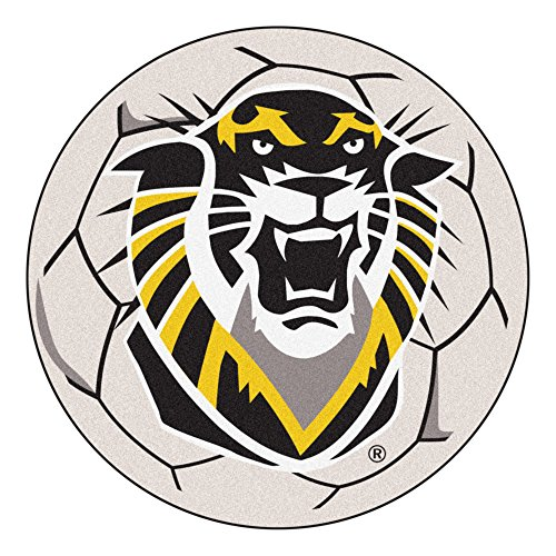 FANMATS NCAA Fort Hays State University Tigers Nylon Face Soccer Ball Rug
