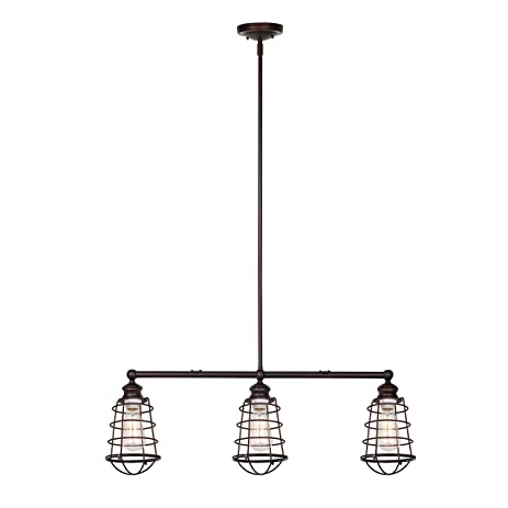 Design House 519785 Ajax 3 Light Pendant Bronze