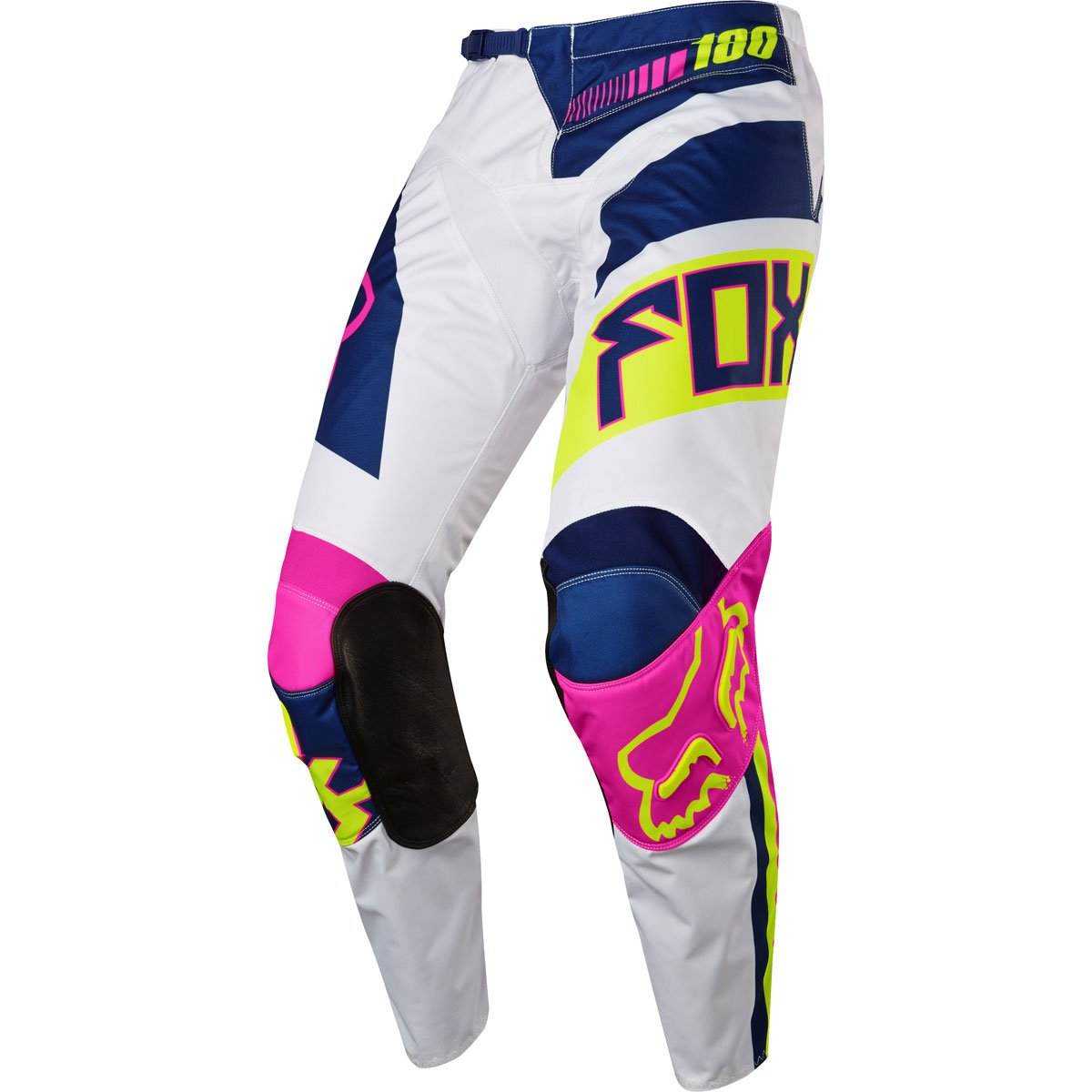 Fox Racing 180 Falcon Youth Boys Off-Road Motorcycle Pants - Navy/White / Size 24
