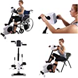 Konliking 180W Electronic Physical Therapy and Rehab Bike Pedal Motorized Trainer for Handicap, Disabled and Stroke Survivor