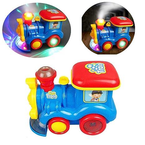 Tawcal Juguetes de Tren eléctrico para bebé, Tren a Vapor ...