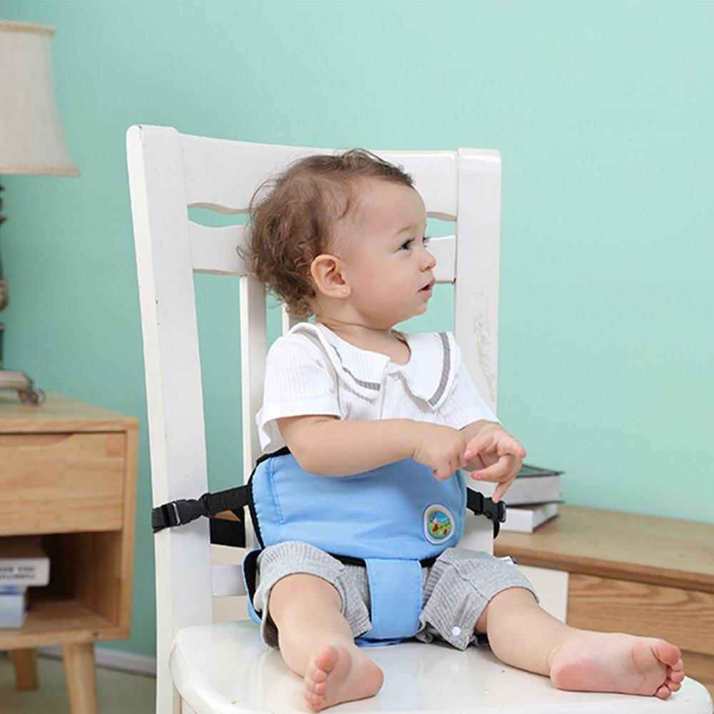 weichen Tr/ägern f/ür Babys Blau mit verstellbaren Isuper Laufgurt Sicherheitsgurt f/ür Kinderwagen