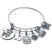 12th 13th 16th Crown Birthday Gift Keyring for Daughter Sister Niece Cousin #2