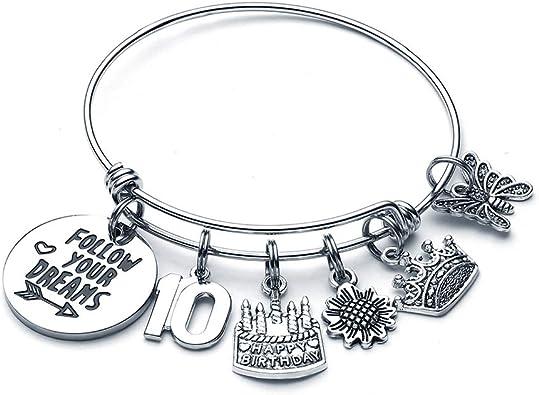 Amazon.com: M MOOHAM - Pulsera de regalo de cumpleaños para ...