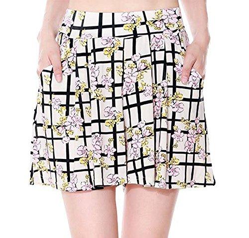 Simplicity Womens Summer Shorts Stretch