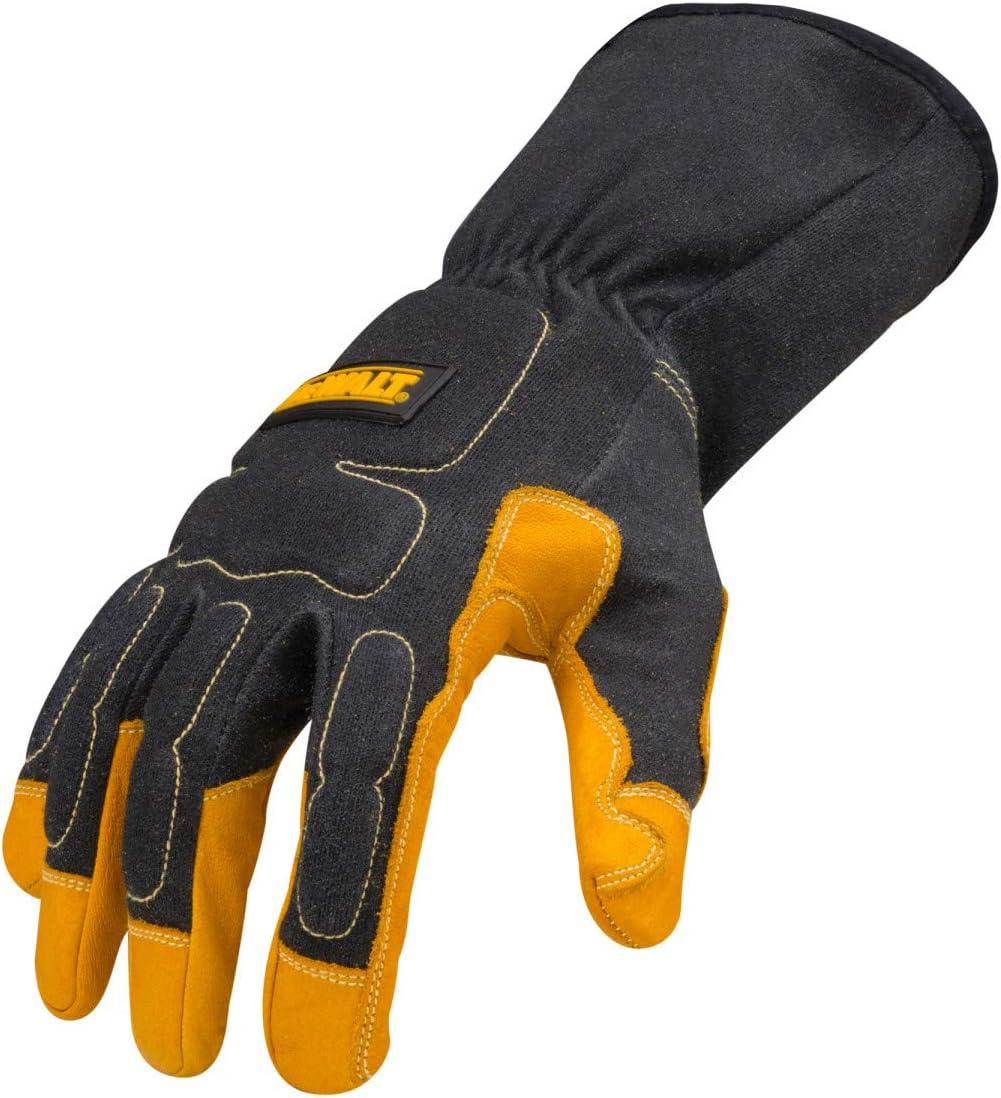 Dewalt Premium MIG//TIG Welding Gloves XXX-Large Gauntlet-Style Cuff