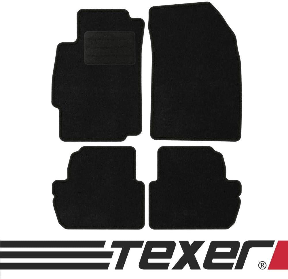 Texer Textil Fußmatten Passend Für Chevrolet Spark Iii M300 Bj 2012 2015 Basic Auto