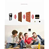 LiPing Smart Video Wireless WiFi DoorBell IR Visual Camera Record Home Security System Mobile PhoneLED Outdoor Decorative Lights Garden Light Gutter Fence