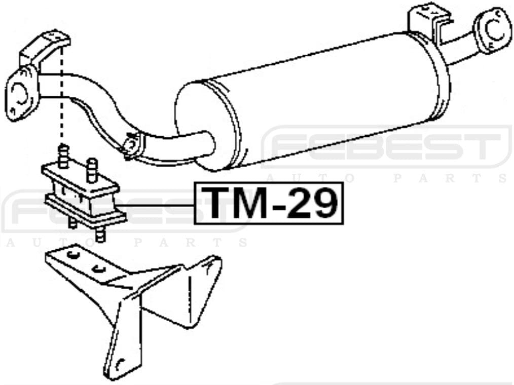 17567-17010//1756717010 Exhaust Pipe Support For Toyota