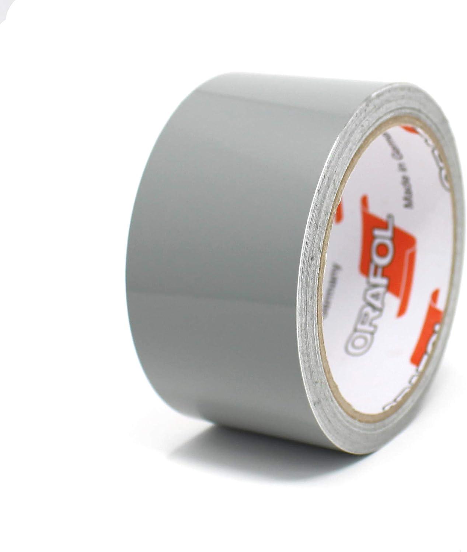 0,79/€//Meter Reflektierend Silber, 12mm Breite Finest Folia Dekorstreifen Seitenstreifen Klebestreifen Zierstreifen Auto Motorrad Boot Modellbau Farbauswahl 10 Meter