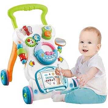 A&Dan Baby Walker Sentado-a-pie Aprendizaje Walker Soporte ...