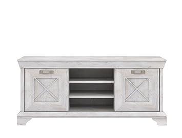 Wandboard Weiß 90x4x20 Cm Wandregal Regal Wohnzimmer