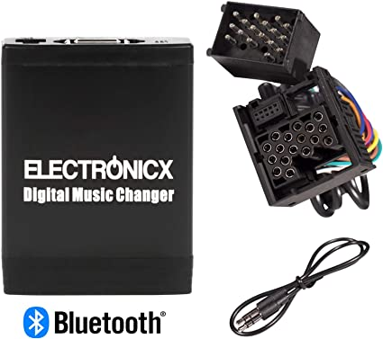 Electronicx Modulo Vivavoce Bluetooth per Adattatore AUX USB SD Mp3