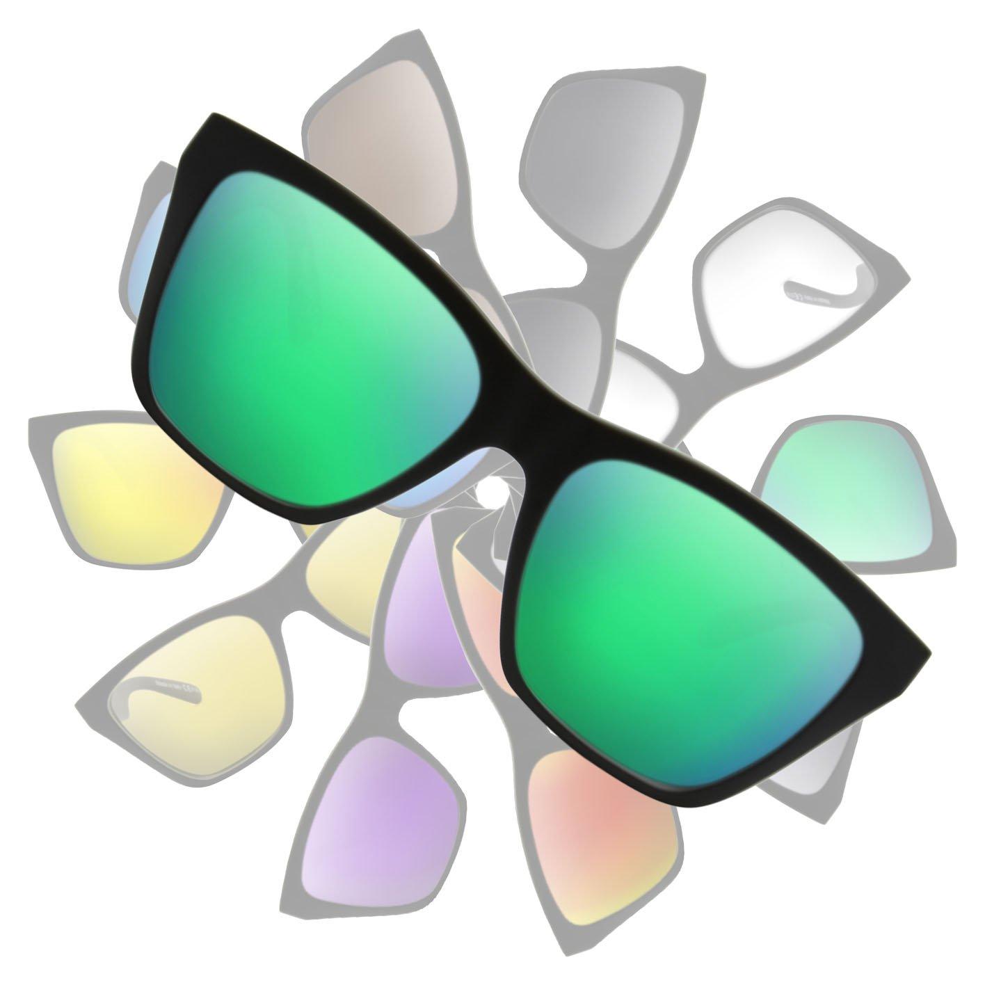 Men Replacement Sunglass Lenses Sublime Optics Replacement Lenses for Von  Zipper Booker