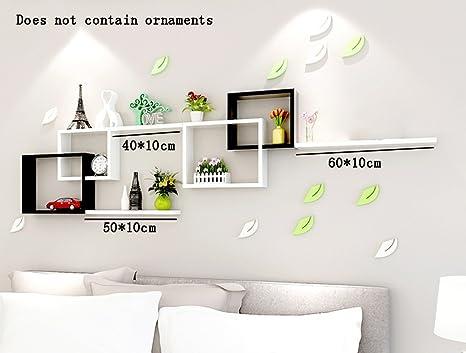 LIEHU HOME-Mensole a muro Semplice Moderni pannelli a base di legno ...