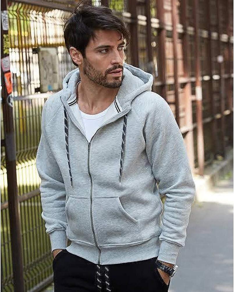 Hooded Zip-Sweat Jacket Feuerstein
