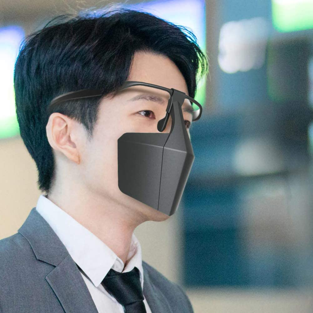 housesweet /Écran Facial Protecteur Isolation Anti-Crachats /Écran Facial Respirant Visi/ères Isolantes R/éutilisables