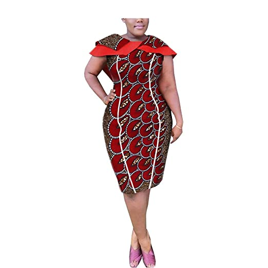 b3db09954b368 Image Unavailable. Image not available for. Color  African Dresses for  Women Plus Size ...