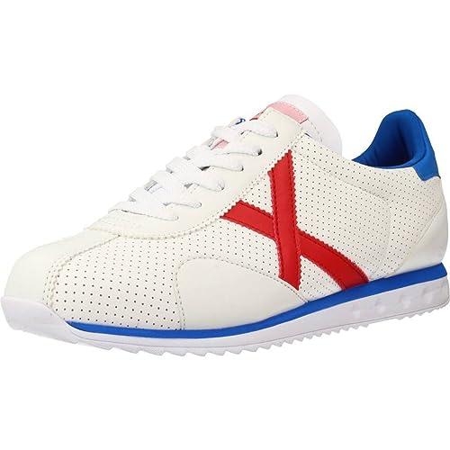 ZAPATILLA MUNICH SAPPORO 11 BLANCO 45 Blanco: Amazon.es: Zapatos y complementos