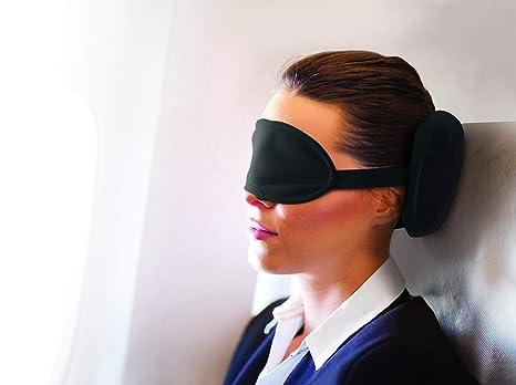 Amazon.com: Jobar International almohada de viaje w/máscara ...
