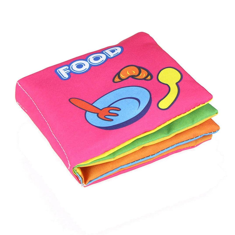 Education toys,Mandy Soft Cloth Intelligence Development Learn Cognize Book B