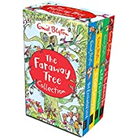 The Magic Faraway Tree Collection 4 Books Box Set Pack (Up The Faraway Tree, The Magic Faraway Tree, The Folk of the Faraway Tree, The Enchanted Wood) Paperback By Enid Blyton
