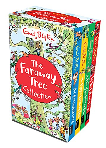 Download Enid Blyton The Magic Faraway Tree Collection 4 Books Box Set Pack (Up The Faraway Tree, The Magic Faraway Tree, The Folk of the Faraway Tree, The Enchanted Wood) PDF