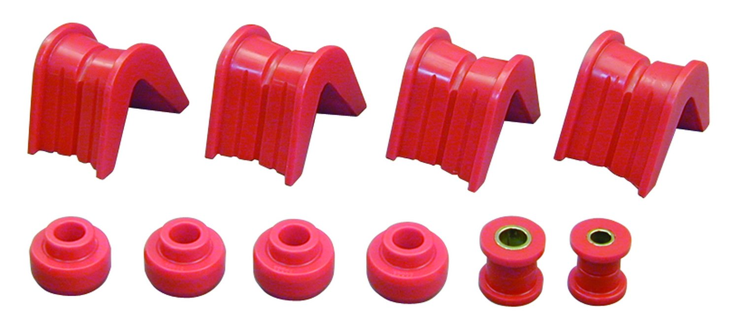 Prothane 6-1901 Red 2 Degree Offset Complete Bushing Kit 06//01//1901