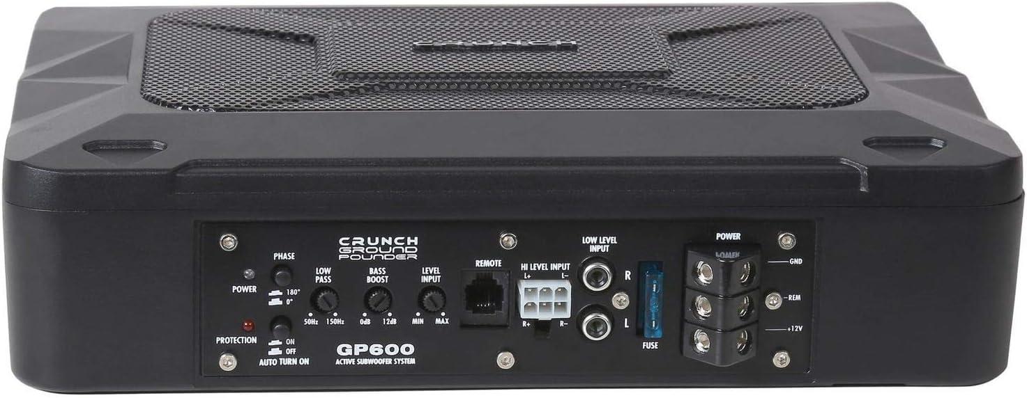Crunch Gp600 Aktiver Subwoofer Untersitz Navigation